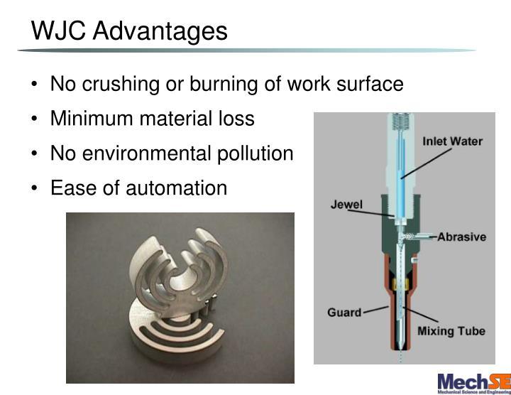 WJC Advantages