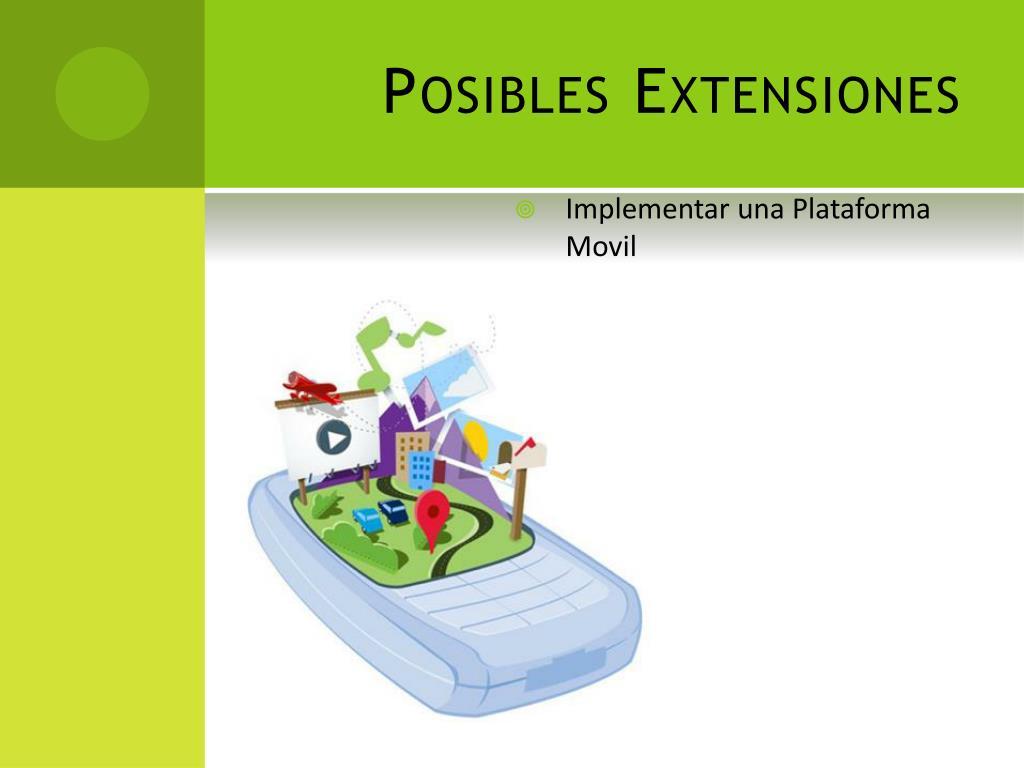 Posibles Extensiones