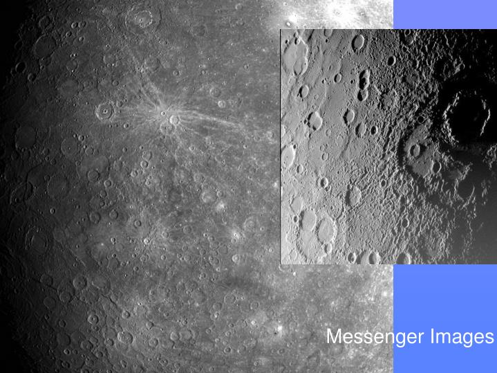 Mercury - Surface Features
