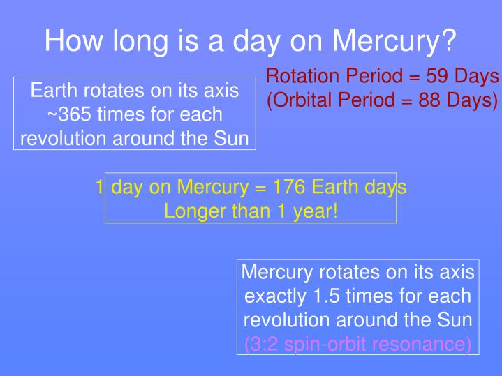 Earth rotates on its axis ~365 times for each revolution around the Sun