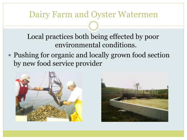 Dairy Farm and Oyster Watermen