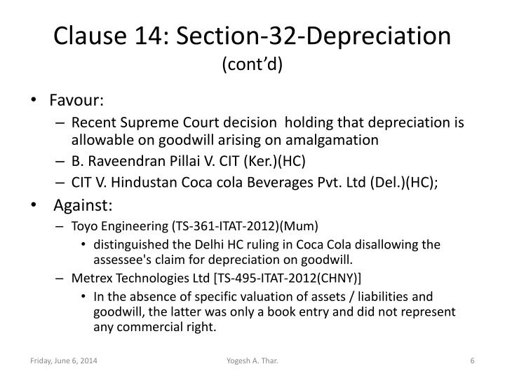 Clause 14: