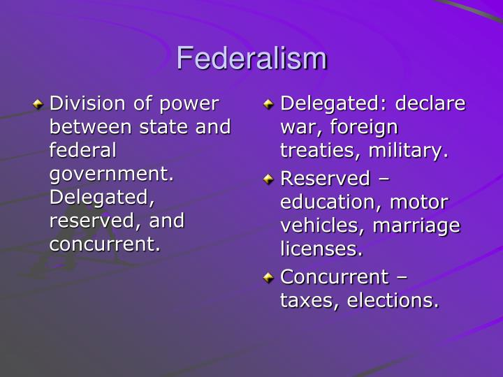 state and federal essay State and federal prisons when a criminal is arrested the type of crime determines whether or not he or she will be confined to a state prison or a federal prison federal and state prisons vary but may have the same theory.
