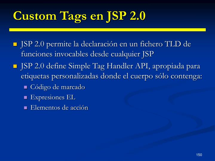 Custom Tags en JSP 2.0