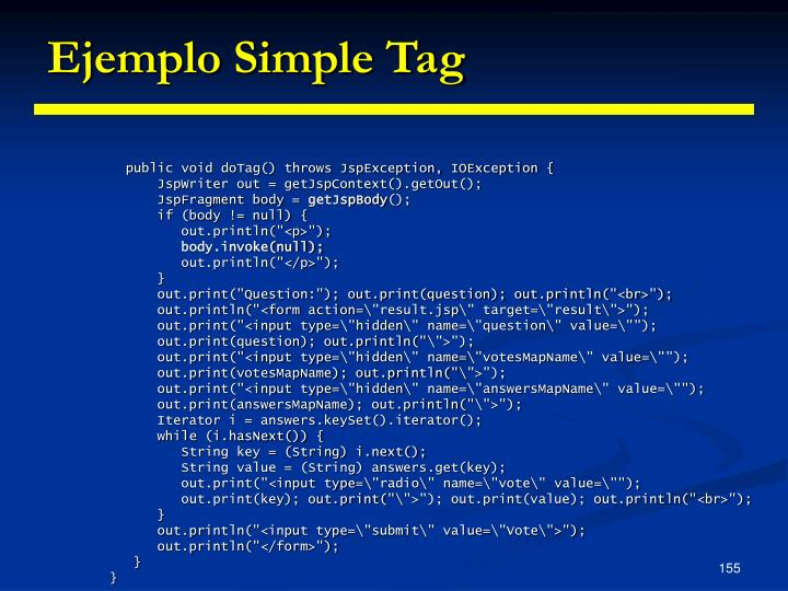 Ejemplo Simple Tag