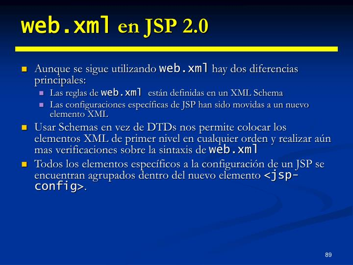 web.xml