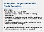 example edgecombe and nash counties