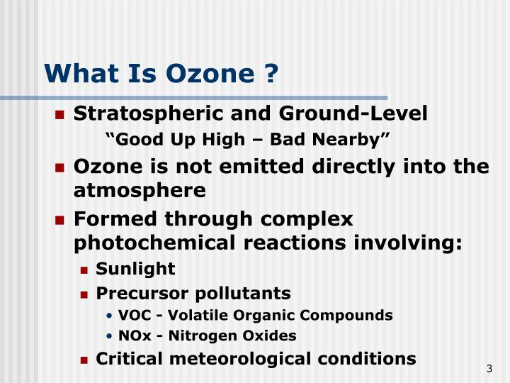 What Is Ozone ?