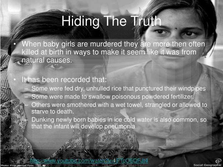 Hiding The Truth