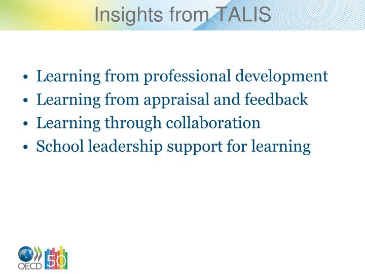 Insights from talis