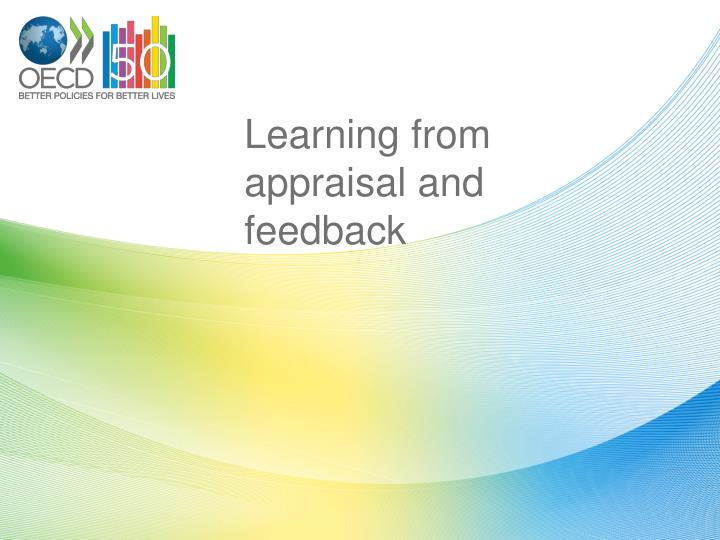 Learning from appraisal and feedback