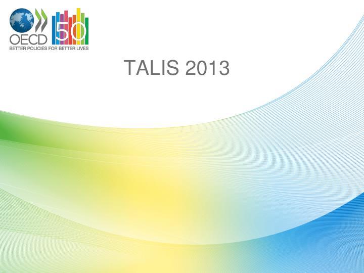 TALIS 2013