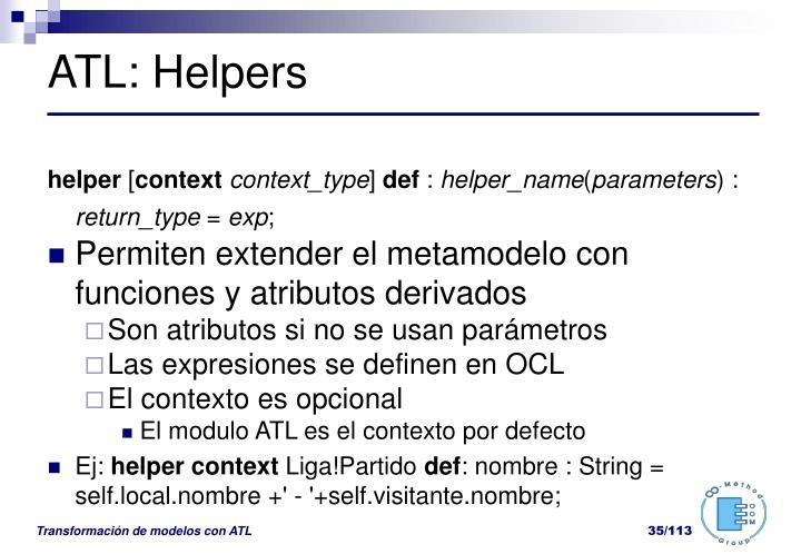 ATL: Helpers