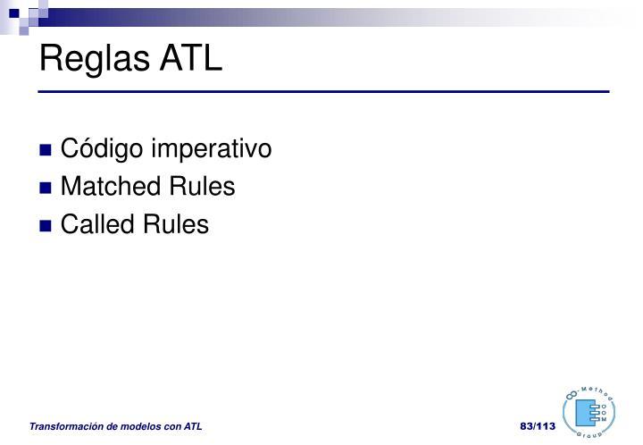Reglas ATL
