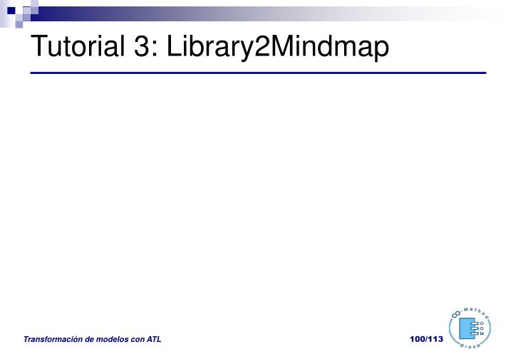 Tutorial 3: Library2Mindmap
