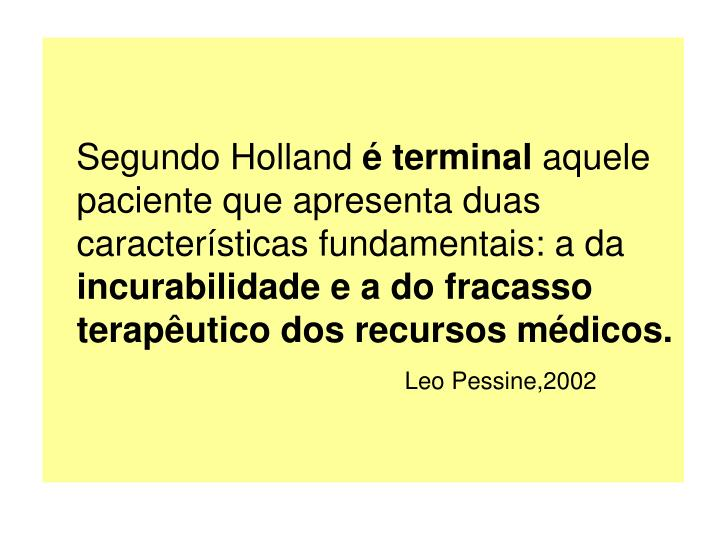 Segundo Holland