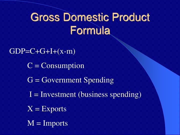 gdp formula - photo #35