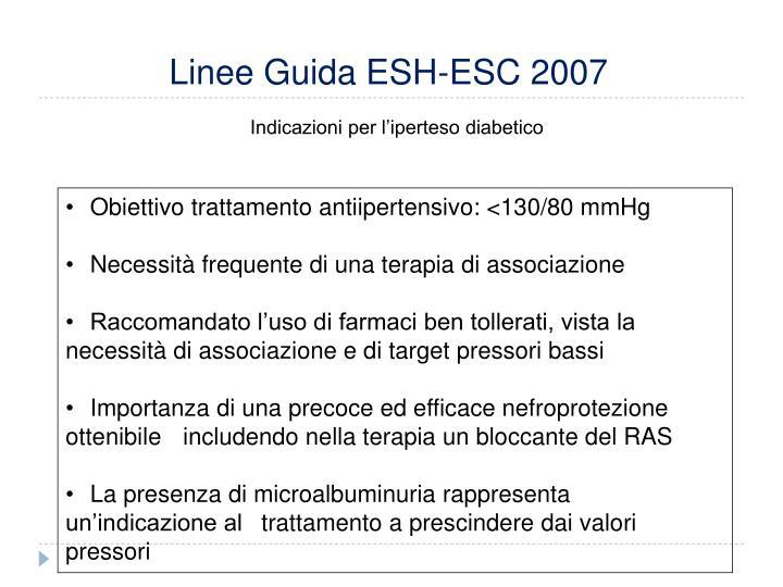 Linee Guida ESH-ESC 2007