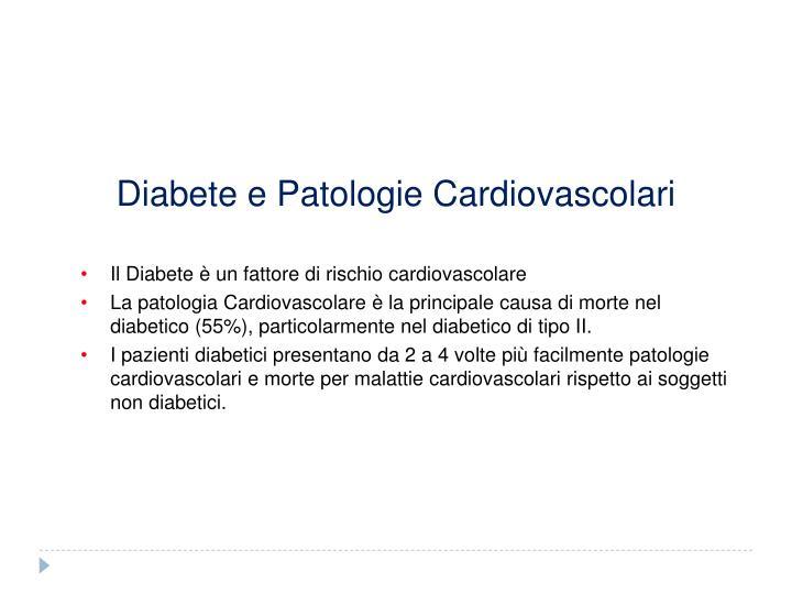Diabete e Patologie Cardiovascolari