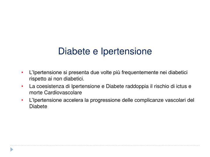 Diabete e Ipertensione