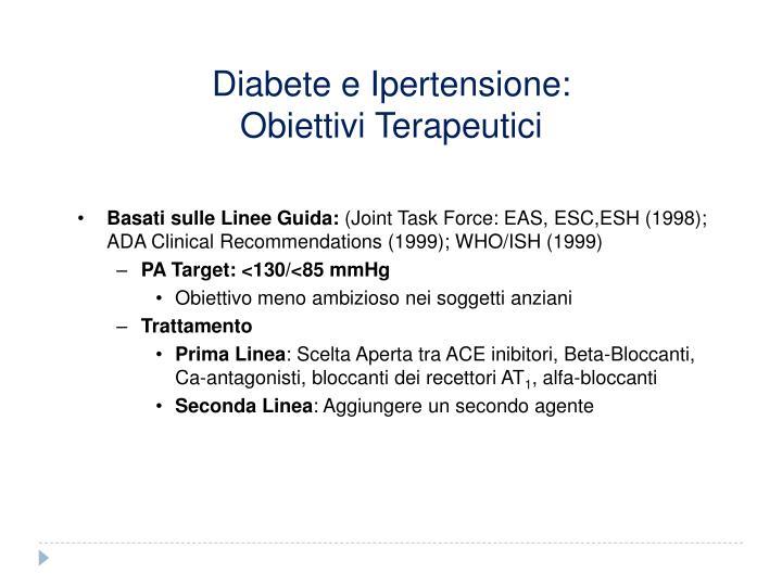 Diabete e Ipertensione: