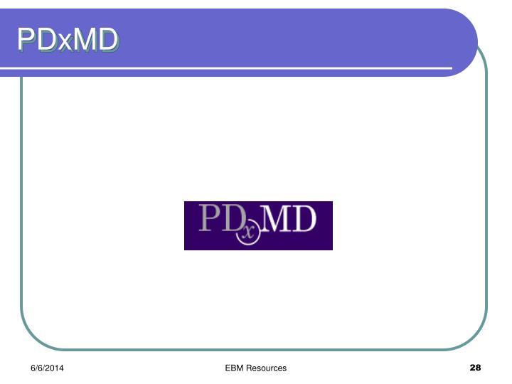 PDxMD