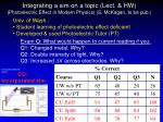 integrating a sim on a topic lect hw photoelectric effect in modern physics s mckagan to be pub