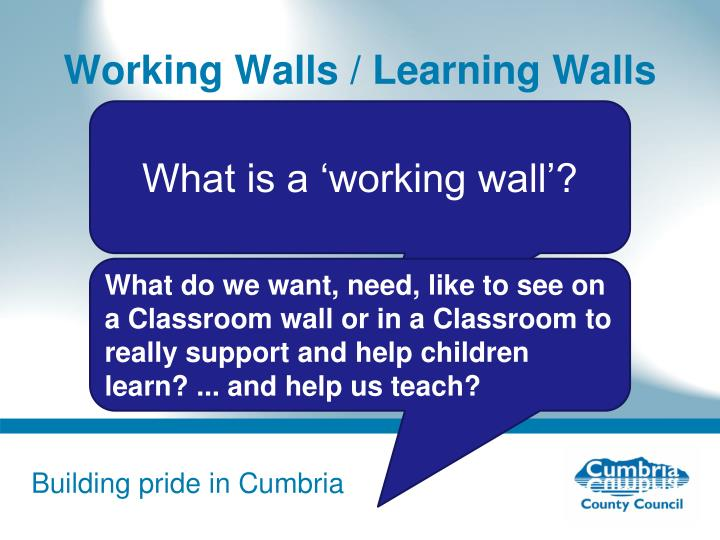 Working Walls / Learning Walls