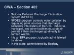 cwa section 402