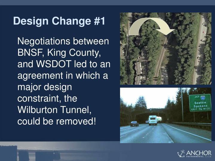 Design Change #1
