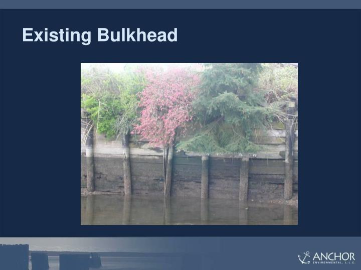 Existing Bulkhead