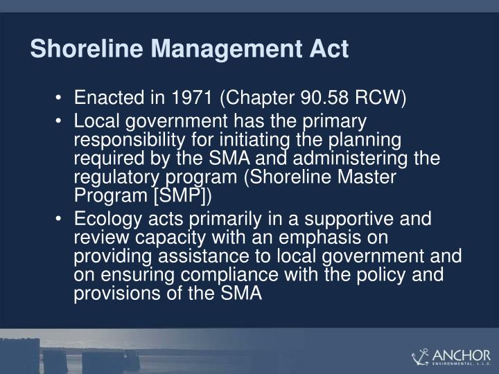 Shoreline Management Act