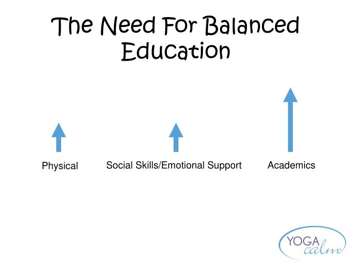 The Need For Balanced Education