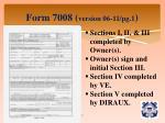 form 7008 version 06 11 pg 1