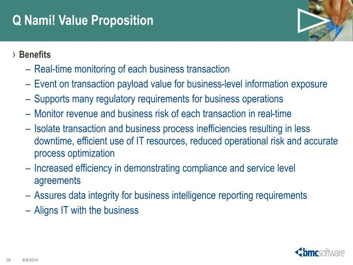 Q Nami! Value Proposition