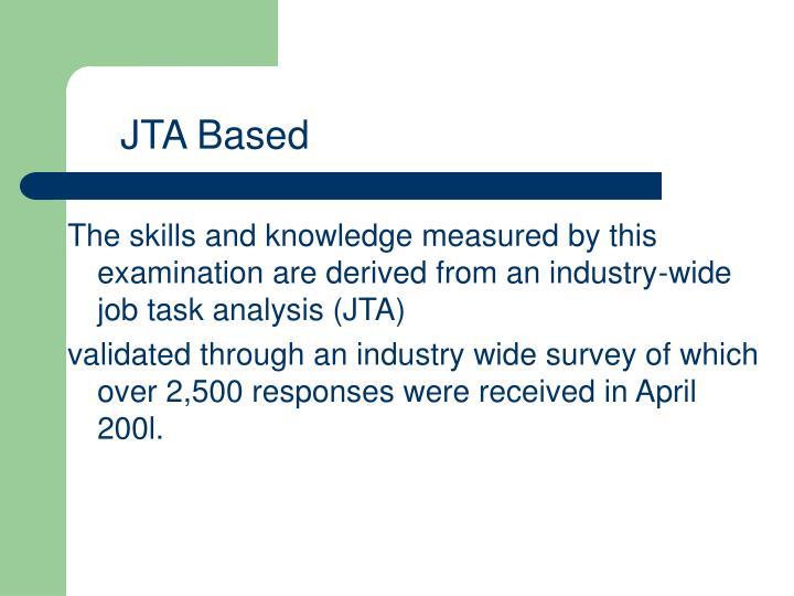 JTA Based