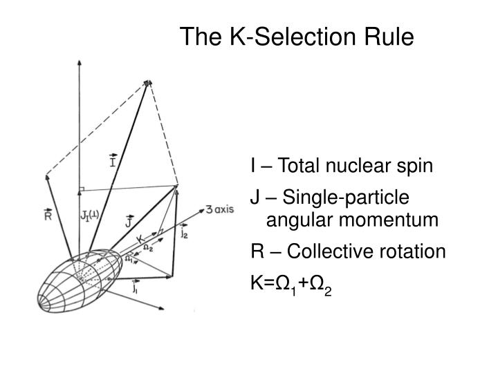 The K-Selection Rule