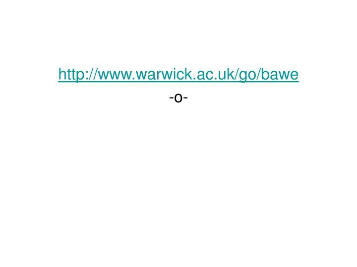 http://www.warwick.ac.uk/go/bawe