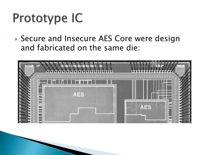 Prototype IC