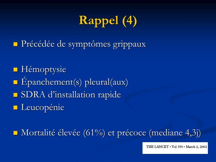 Rappel (4)