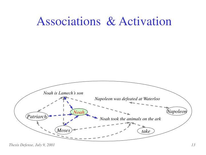 & Activation