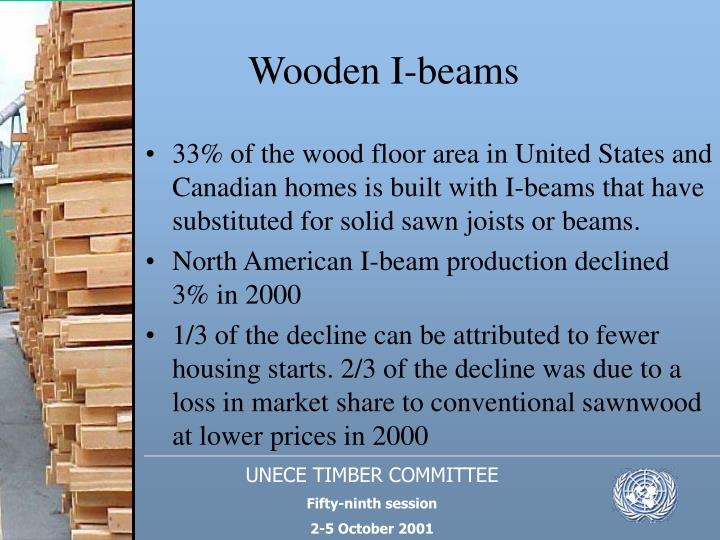 Wooden I-beams