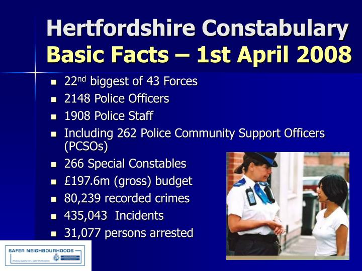 Hertfordshire Constabulary