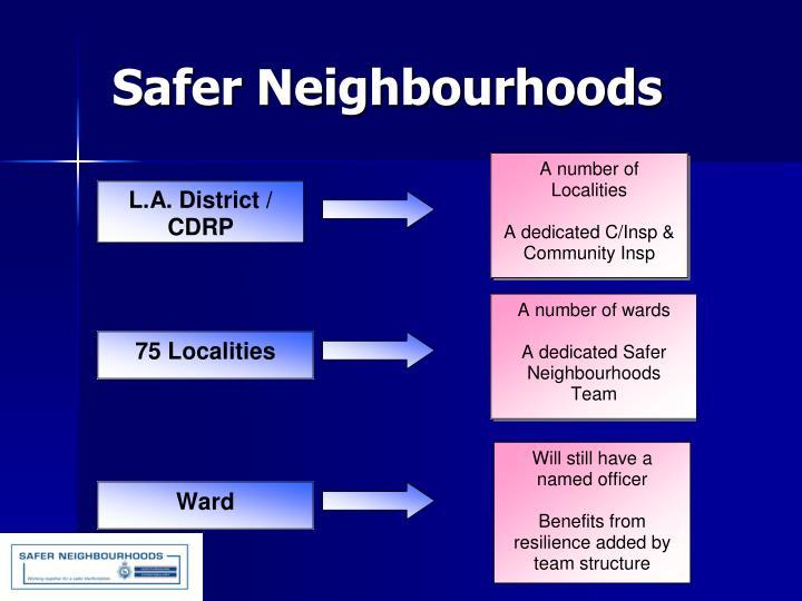 Safer Neighbourhoods