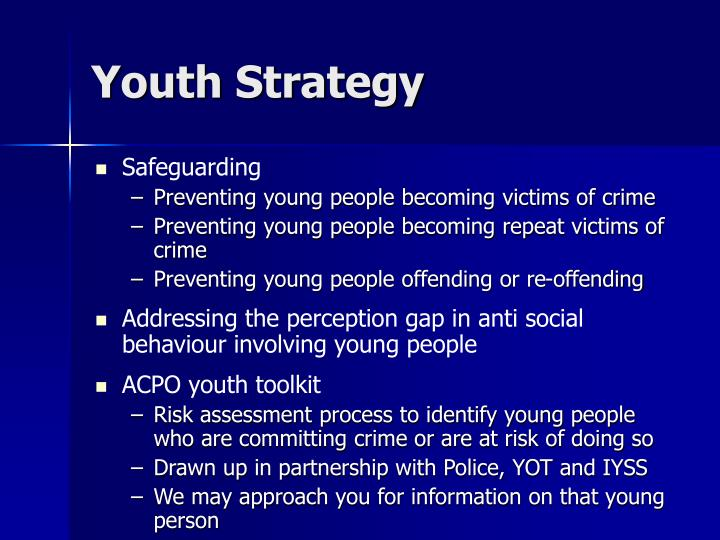 Youth Strategy