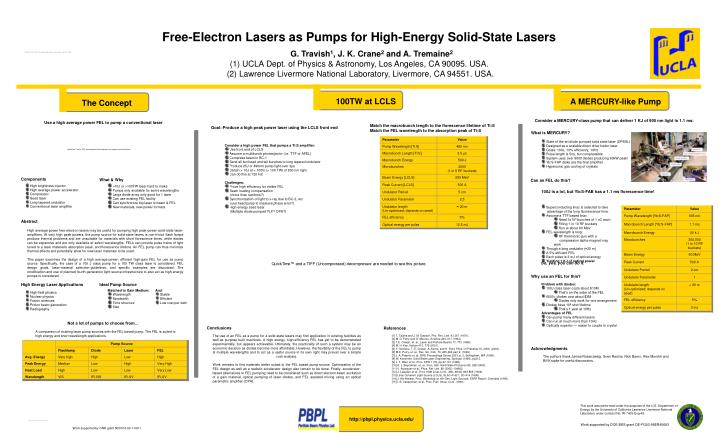 Free-Electron Lasers as Pumps for High-Energy Solid-State Lasers