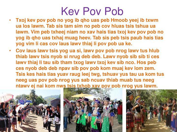 Kev Pov Pob