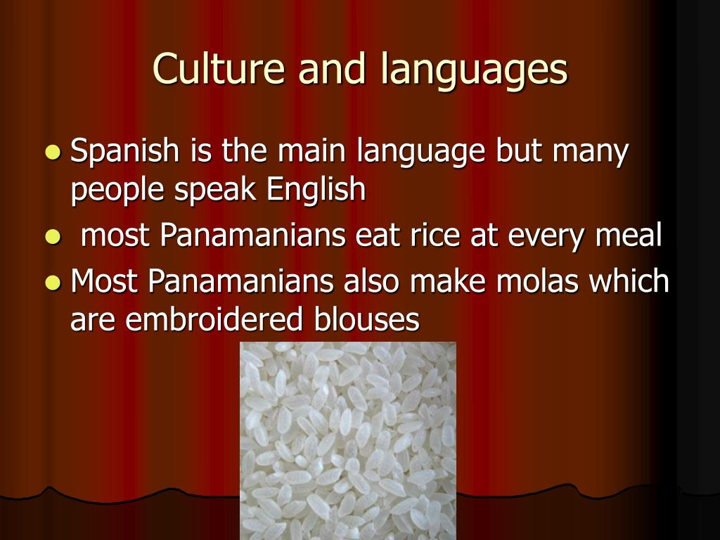 Culture and languages
