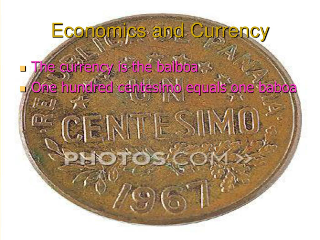 Economics and Currency