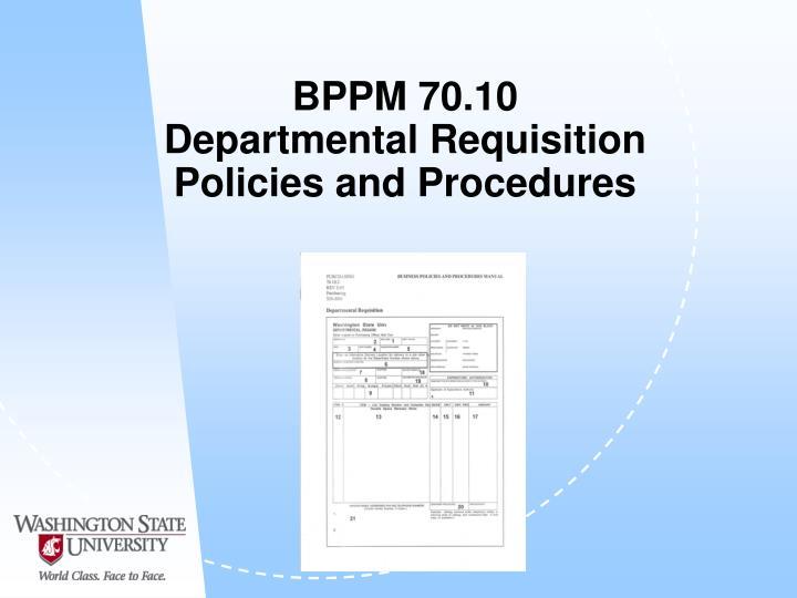 BPPM 70.10